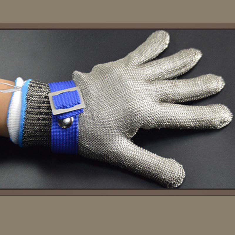 Cut-resistant Gloves Carpenter Repair Tailor Metal Slaughter Cut-resistant Steel Iron Gloves