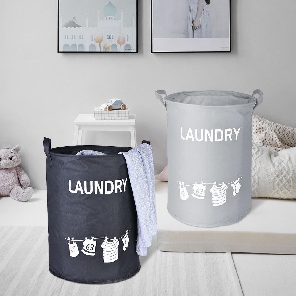 Çamaşır sepeti katlanabilir su geçirmez kirli giysi saklama sepeti sepet çocuk oyuncağı depolama sepeti taşınabilir çamaşır organizatör