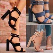 2019Platform Sandals Shoes Women SUMMER STYLE High Heel Casu
