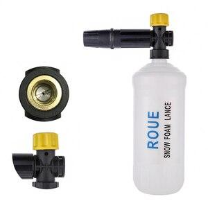 Image 3 - 圧力洗濯機adjusable泡大砲洗車機雪の泡ランス高圧石鹸フォーマー泡発生器車の泡クリーナースプレー