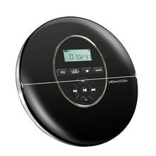 Estilo Redondo-Reproductor DE CD portátil, auriculares HiFi, Walkman de CD DXAC