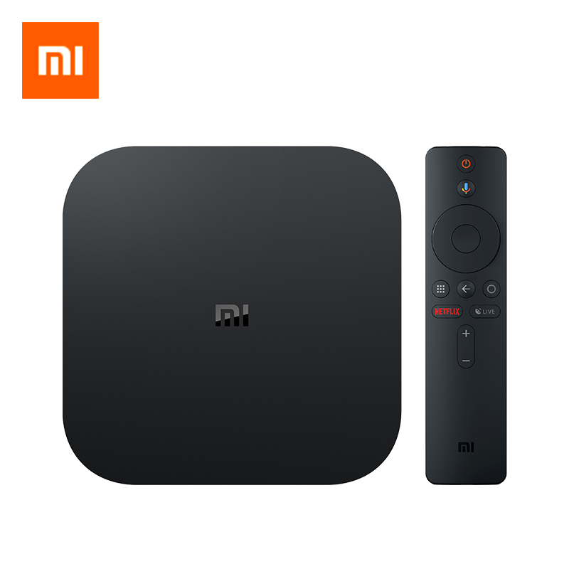 Global Version Xiaomi Mi TV Box S Android 8 1 4K HDR 2G 8G WiFi BT4