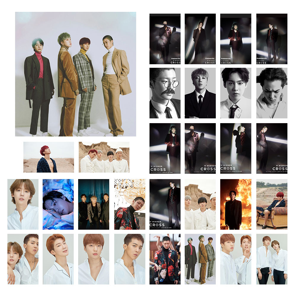 Kpop TXT WINNER DAY6 Same Portray Photo Cards BEOMGYU SOOBIN TAEHYUN YEONJUN LOMO Cards Postcards