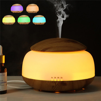 USB Aroma Diffuser Mist Maker Humidifier Air Purifier Remote Control LED Night light Humidifier for Office Home decleor aroma night