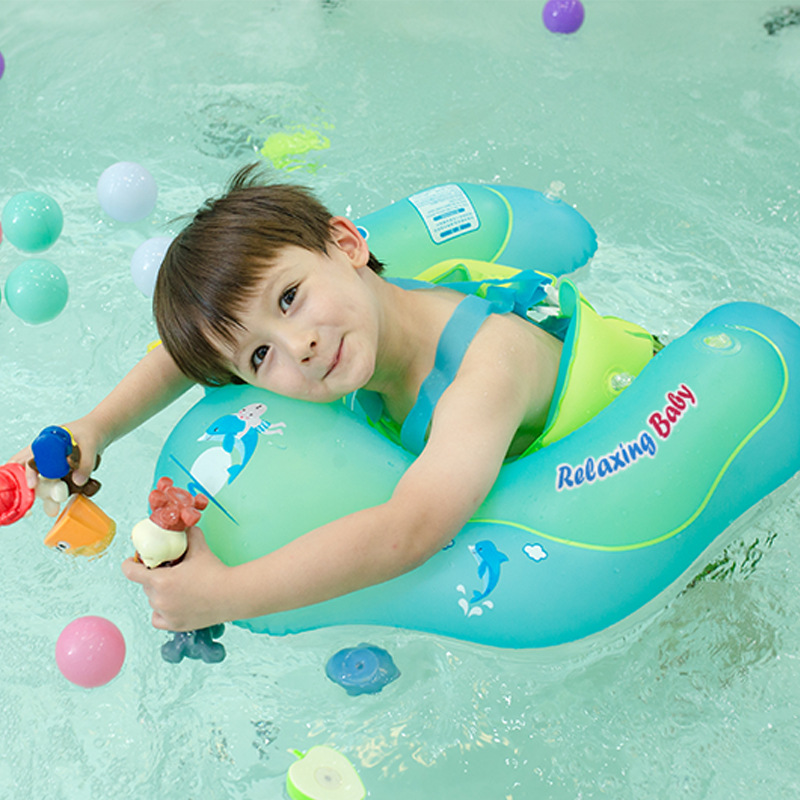 Baby Swimming Ring Inflatable Kids Bath Swim Circle Infant Swim Pool Floating Child Double Raft Safety Ring Water Zone Toy