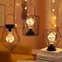 레트로 테이블 램프 LED 밤 빛 침실 거실 침대 옆 램프 침대 램프 홈 크리스마스 장식 조명
