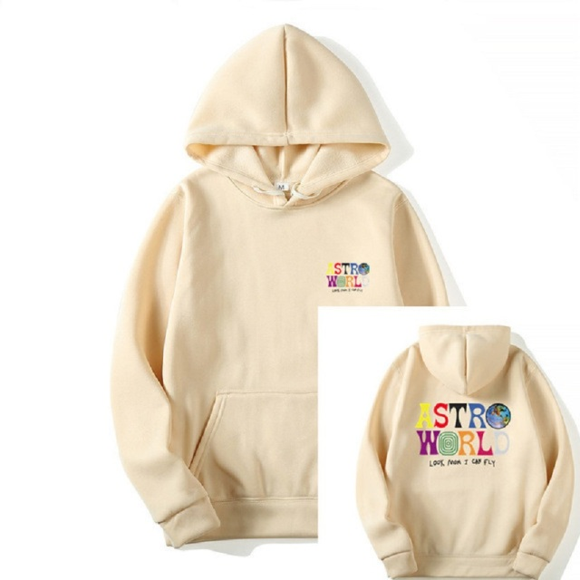 """TRAVIS SCOTT ASTROWORLD """"Look Mom I Can Fly"""" HOODIES 1"""