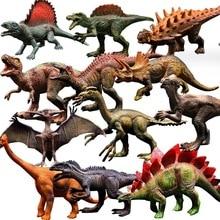 Парк Юрского периода, игрушечные модели динозавров для детей, набор игрушек Дракона Для Мальчиков, велоцираптор, фигурка животного, цельный домашний декор