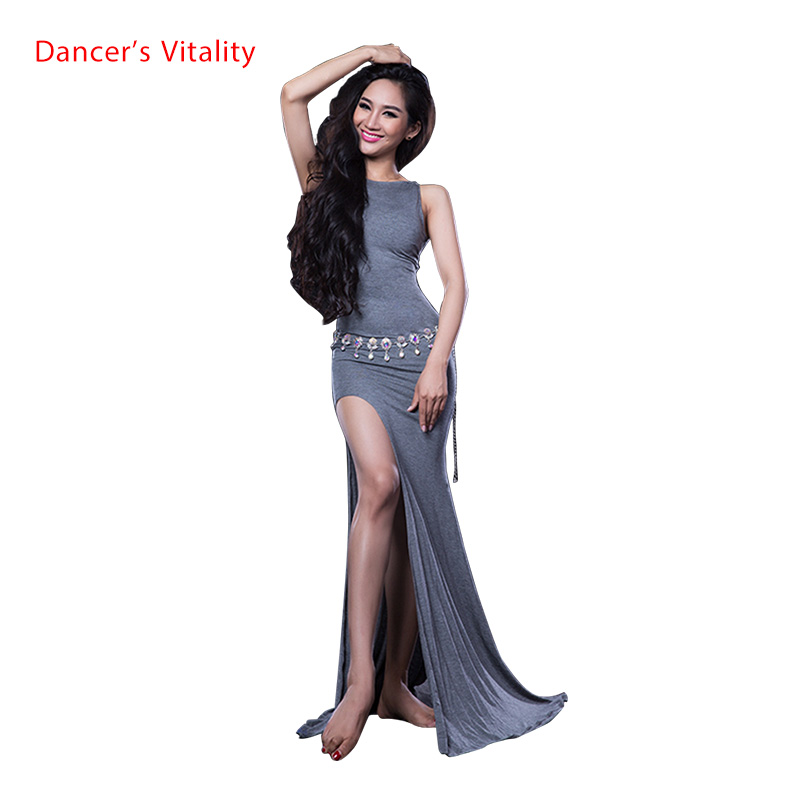 Lady Maste Belly Dance Dress Girls Belly Dancing Clothing Sleeveless Dance Ddress  Dancer's Fashoin Dresses M/L