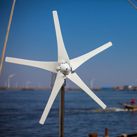 Windmill Generator For Hybrid Solar Wind Power Generation System Combine With Hybrid Charge Controller