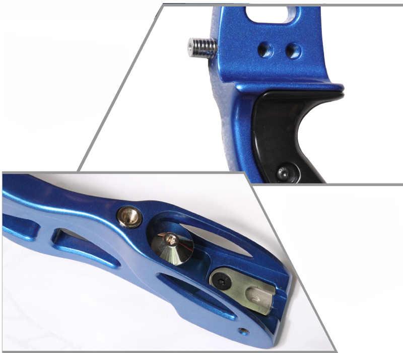 25 pulgadas aleación de magnesio X9 arco recurvo Riser mango deslizante ajuste para el usuario derecho tiro con arco al aire libre caza tiro