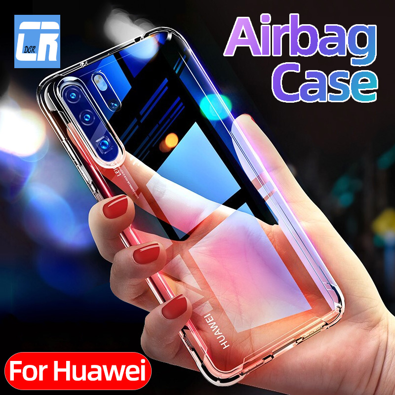 Shockproof Silicone Phone Case For Huawei P30 P40 P20 Lite Mate 30 20