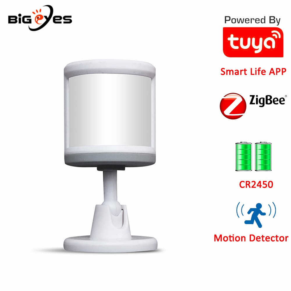 Tuya Zigbee PIR Motion Sensor Remote Control 360 Degree Infrared Detector