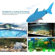 New Underwater Remote Control Shark RC Submarine 4 CH Small