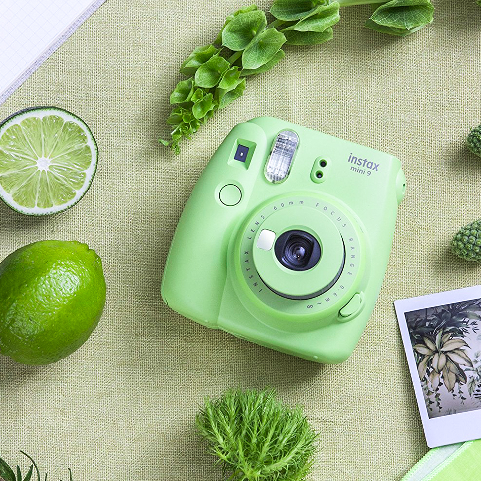 Fujifilm Instax Mini 9 Instant Camera Photo Printer Film Camera With Selfie Mirror 5 Colors Fujifilm Instax Instant Camera