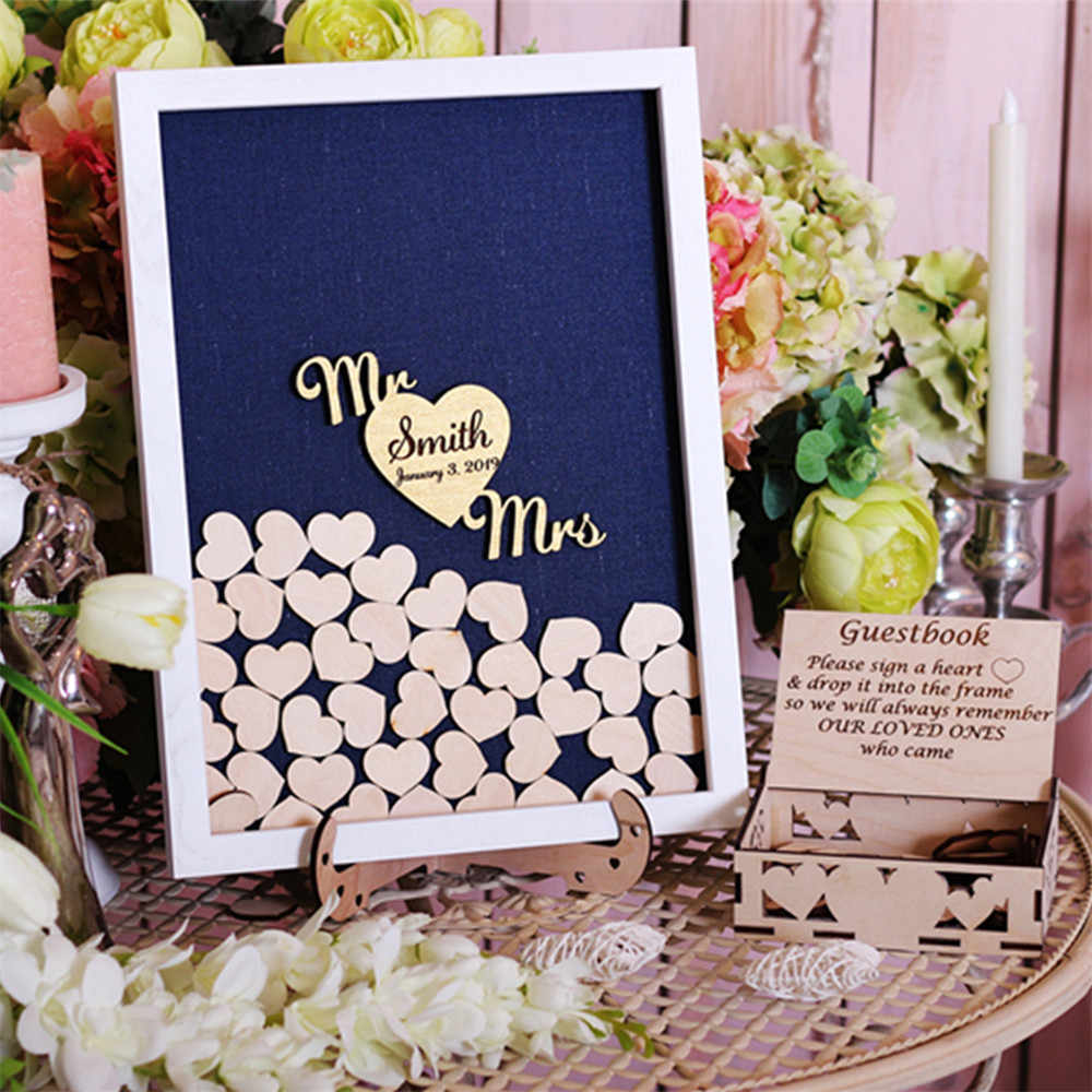 Wedding Welcome Sign 20x30 The Sugared Plums Frames Guest Book Frame Alternative Guest Book Wedding Guest Book
