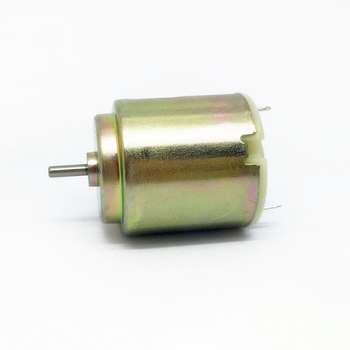 Gold 260 Micro Motor DC 3-6V 14000 rpm-25000 rpm, Round Motor High Speed High Torque for DIY Toy Model, Shaft Diameter 2mm image