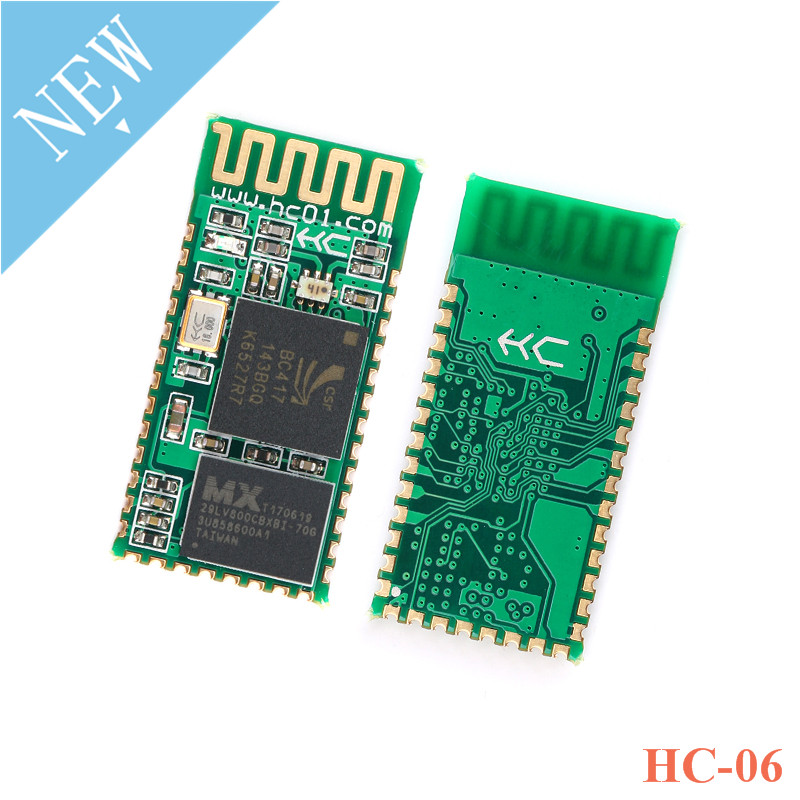 HC-06 HC 06 2.4G RF Wireless Bluetooth Transceiver Master Slave Module Serial UART 3.3V TTL <font><b>HC06</b></font> for <font><b>Arduino</b></font> image