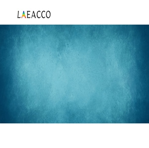 Laeacco Photo Backdrops Gradient Solid Blue Color Wall Party Love Wall Baby Portrait Photography Backgrounds For Photo Studio