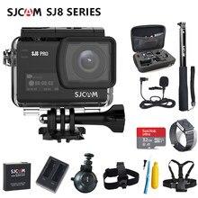 Caméra d'action SJCAM SJ8 série SJ8 Air & SJ8 Plus & SJ8 Pro caméra 1290P 4K WIFI télécommande étanche sport DV