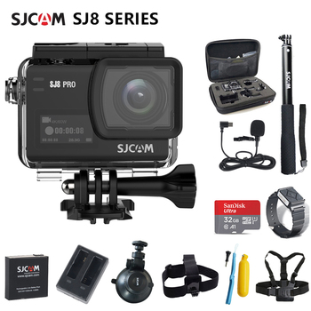 Action Camera Original SJCAM SJ8 Series SJ8 Air & SJ8 Plus & SJ8 Pro Camera 1290P 4K WIFI Remote Control Waterproof Sports DV