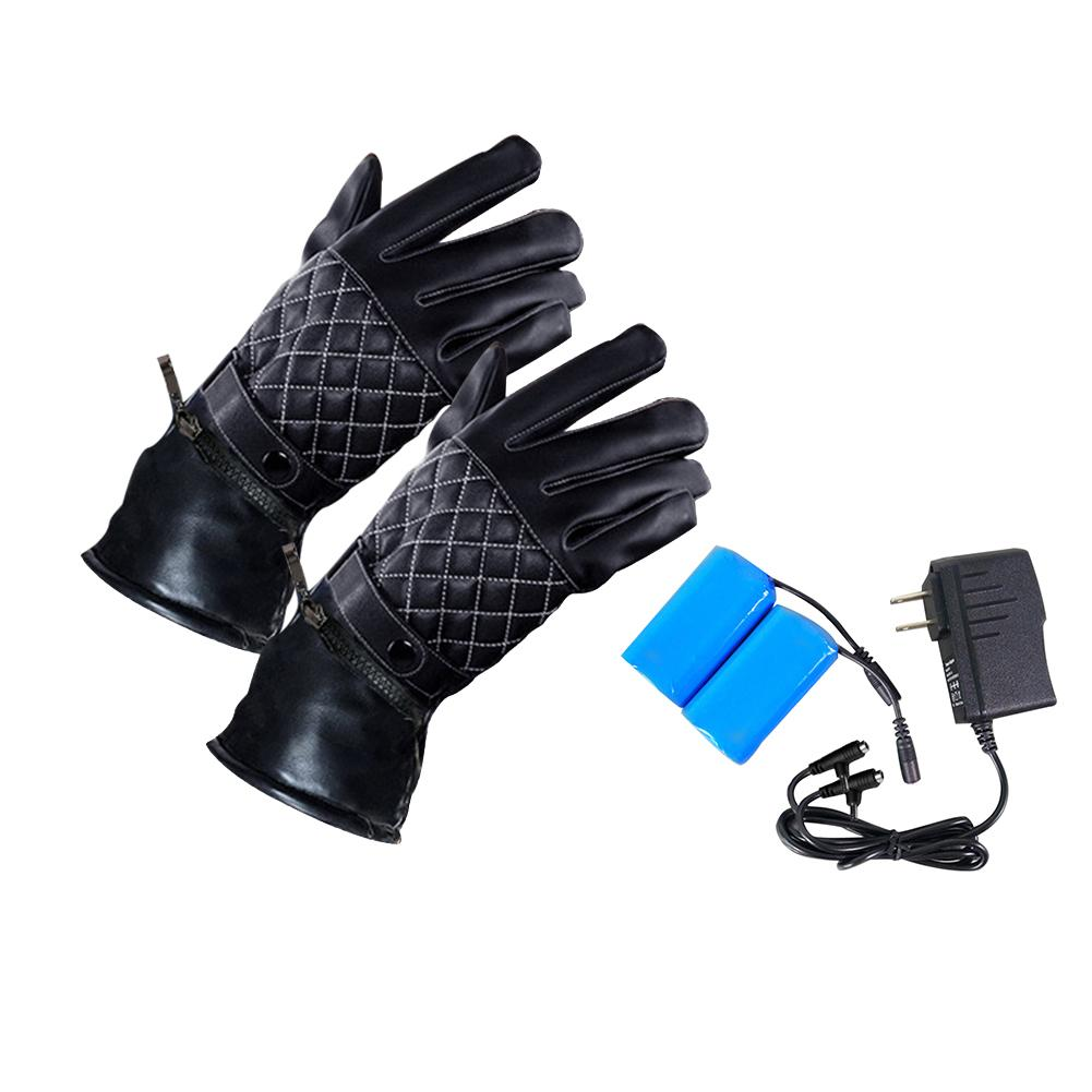 Image 5 - Touch Screen Heated Gloves USB Charging Outdoor Heated Gloves with Independent Heating Chip for Cycling Climbing-in Skiing Gloves from Sports & Entertainment