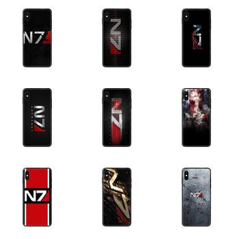 Greatest Mass Effect N7 Armour TPU Mobile Phone For Huawei Honor Mate Play V10 View 10 20 20X 30 Lite Pro Y3 Y5 Y9 Nova 3 3i Pro image