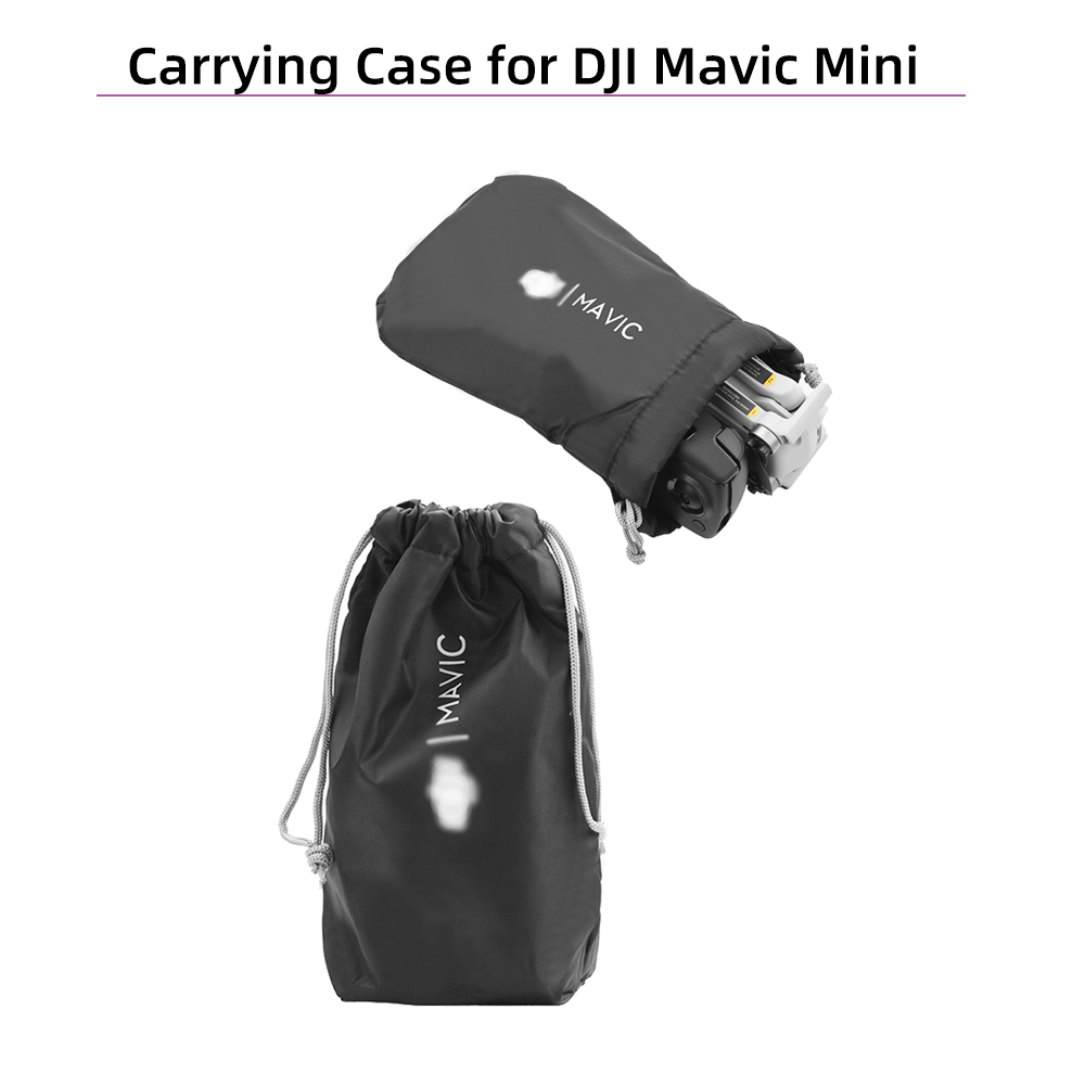 Portable Soft Cloth Waterproof Protective Storage Bag Drone Body Carrying Case Protector For DJI Mavic Mini Drone Accessories