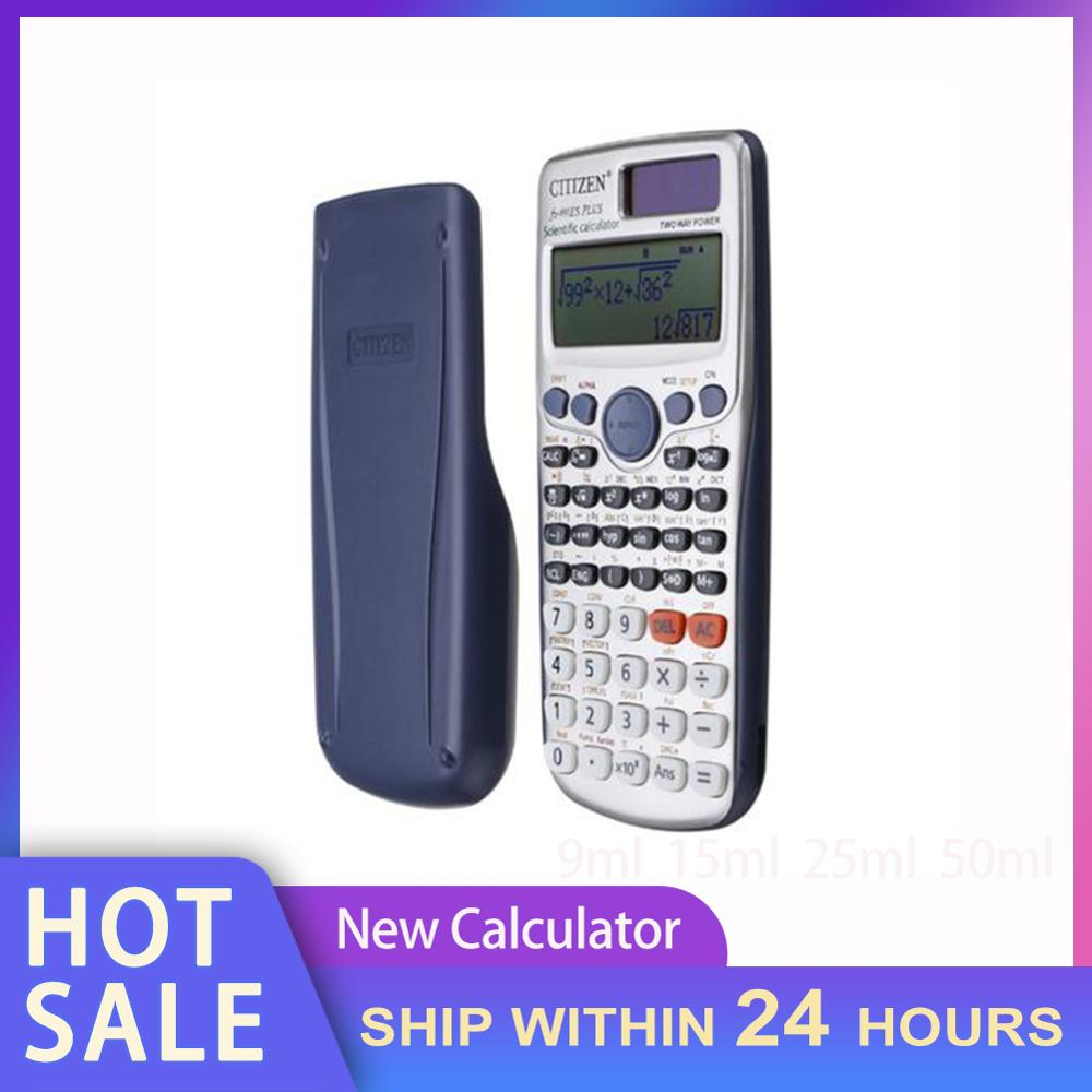 Scientific Calculator Engineering Function Calculator For Student Teacher Workers Fractions with Button Battery Dropshipping Hot