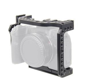 Image 2 - Kamera kafesi Video Film Film Rig sabitleyici Canon EOS R tam çerçeve ILDC kamera + soğuk ayakkabı dağı sihirli kol Video ışığı
