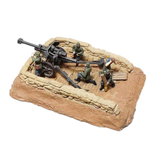 1/72 World War II German FH-18 Artillery Soldier Model Trench Soldier Scene Accessories Model 2020 New Arrival цена 2017