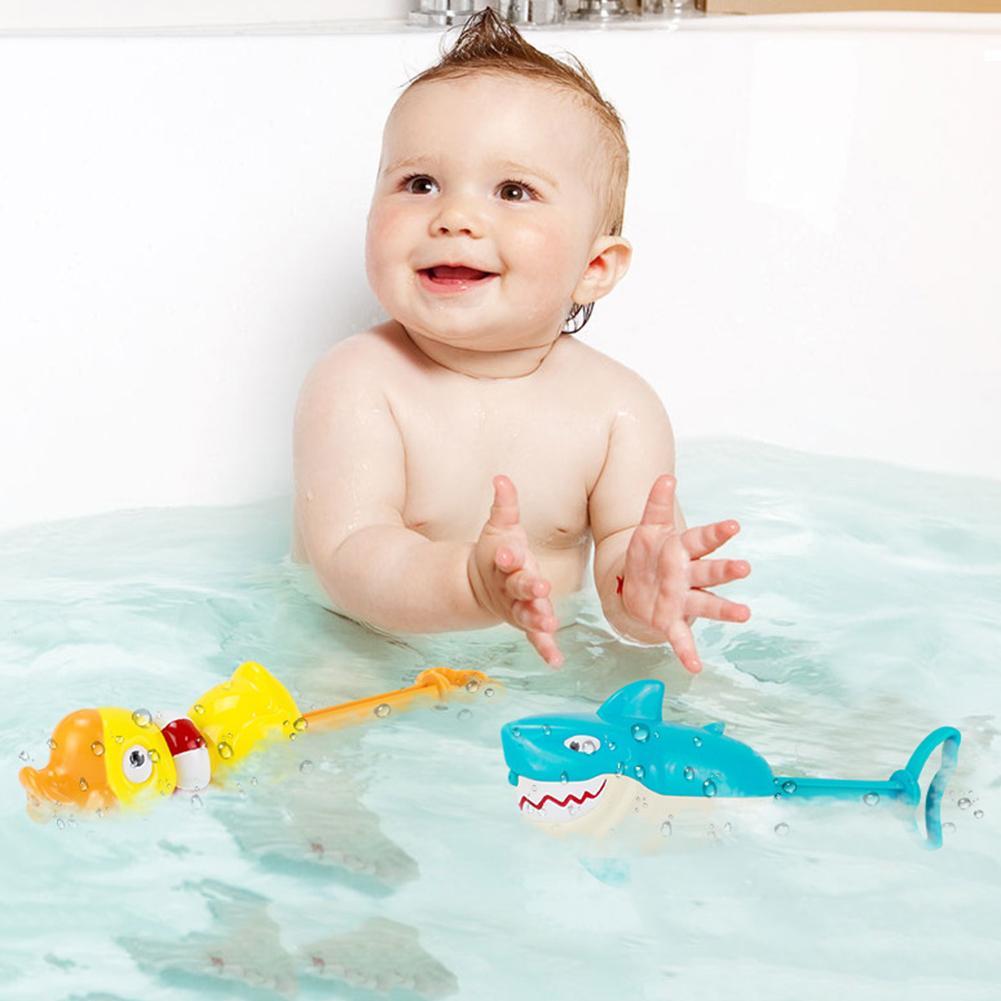 Cartoon Shark Animal Water Soaker Launcher Pump Pool Beach Kids Toy Cute Toy For Children Gift