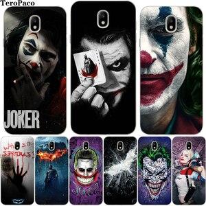 Cool Joker Harley Quinn Batman Soft Silicone Case For Samsung Galaxy J510 J3 J5 J7 2016 2017 J4 J6 Plus J7 J8 2018EU Cover