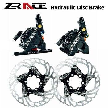 ZRACE-bicicleta de carretera Cyclocross CX, accionado por Cable, máquina para perforación de postes en carreteras, Freno de disco para bicicleta de carretera, disco hidráulico accionado por ca