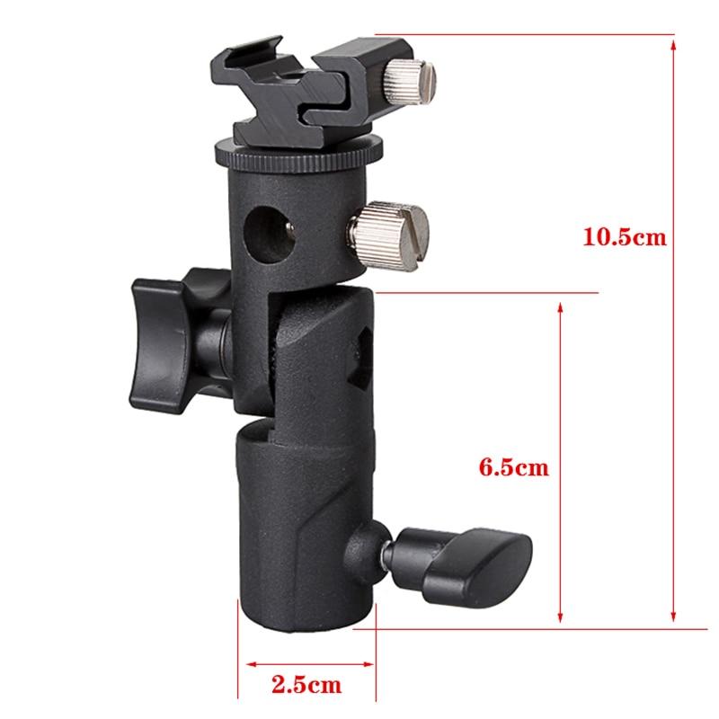 Mbështetëse mbajtëse çadre speedlite mbajtëse mbajtëse dritash - Kamera dhe foto - Foto 3