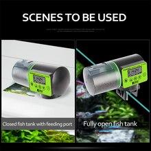 Fish-Feeder Auto-Feeding-Dispenser Automatic Timer Lcd-Indicates Smart with Aquarium-Accessories