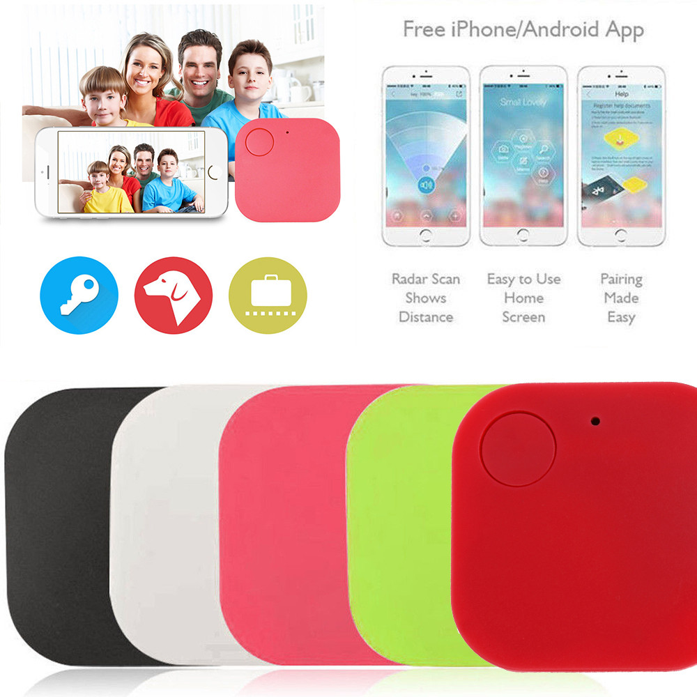 Smart Tag Wireless Bluetooth Tracker with Anti-lost Alarm Reminder and APP Control System 1