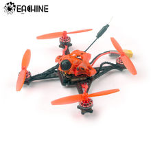 Eachine RedDevil 105mm 2-3S FPV Racing Drone Whoop PNP/BNF Crazybee F4 PRO Caddx EOS2 5,8G 25 ~ 200mW VTX RC helicóptero Quadcopter(China)