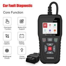 YA301 Obd2 Scanner Code Reader Battery Tester Engine Analyzer Full OBD 2 Automotive Scanner Car Diagnostic Tool Free Update