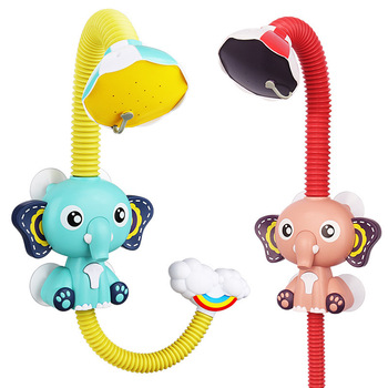 Baby Elephant Sprinkler Bath Toy 6
