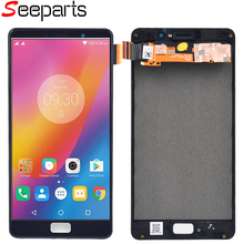 Display For Lenovo P2 P2c72 P2a42 Display Touch Screen Digitizer Panel Assembly With Frame Replacement For Lenovo P2 LCD Display