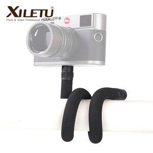 Image 1 - XILETU S 1Multifunctional להאריך התרחבות סוגר עם 1/4 בורג בורג חור עבור טלפונים מצלמות LED אור מאקרו צילום