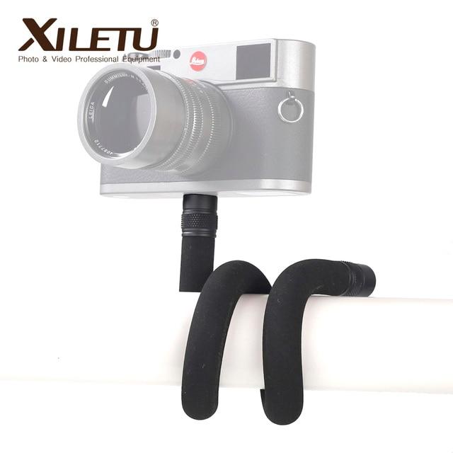XILETU S 1Multifunctional להאריך התרחבות סוגר עם 1/4 בורג בורג חור עבור טלפונים מצלמות LED אור מאקרו צילום