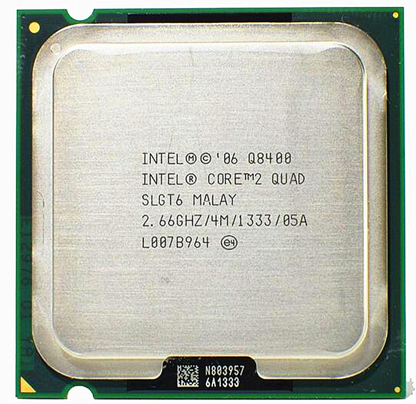 Intel Core 2 Quad Q8400 2.6 GHz Quad-Core CPU Processor 4M 95W LGA 775 Desktop CPU (4M Cache, 1333 MHz FSB)