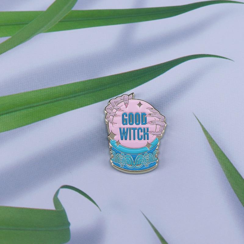 Good Witch Enamel Pin