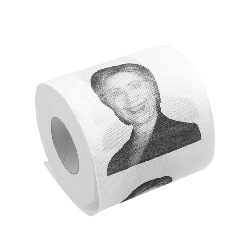 Printed Roll Toilet Paper Hillary Toilet Paper Rolls Pack