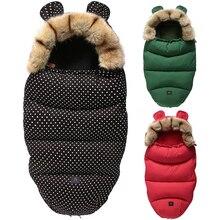 Stroller Blanket Sleeping-Bag Envelopes Footmuff Warm Newborn-Baby Winter for Thick