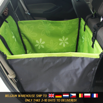 Pet Carriers Dog Car Seat Cover Carrying for Dogs Cats Mat Blanket Rear Back Hammock 2