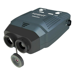 Night Vision Monocular, Zoom 6X Blue-Infrared Illuminator Allows Viewing in the Dark-Records Images and Video Hunting Telescope