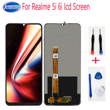 6.5inch for Realme 5i 6i LCD Display with Touch Screen Digitizer Assembly 100% Original Parts